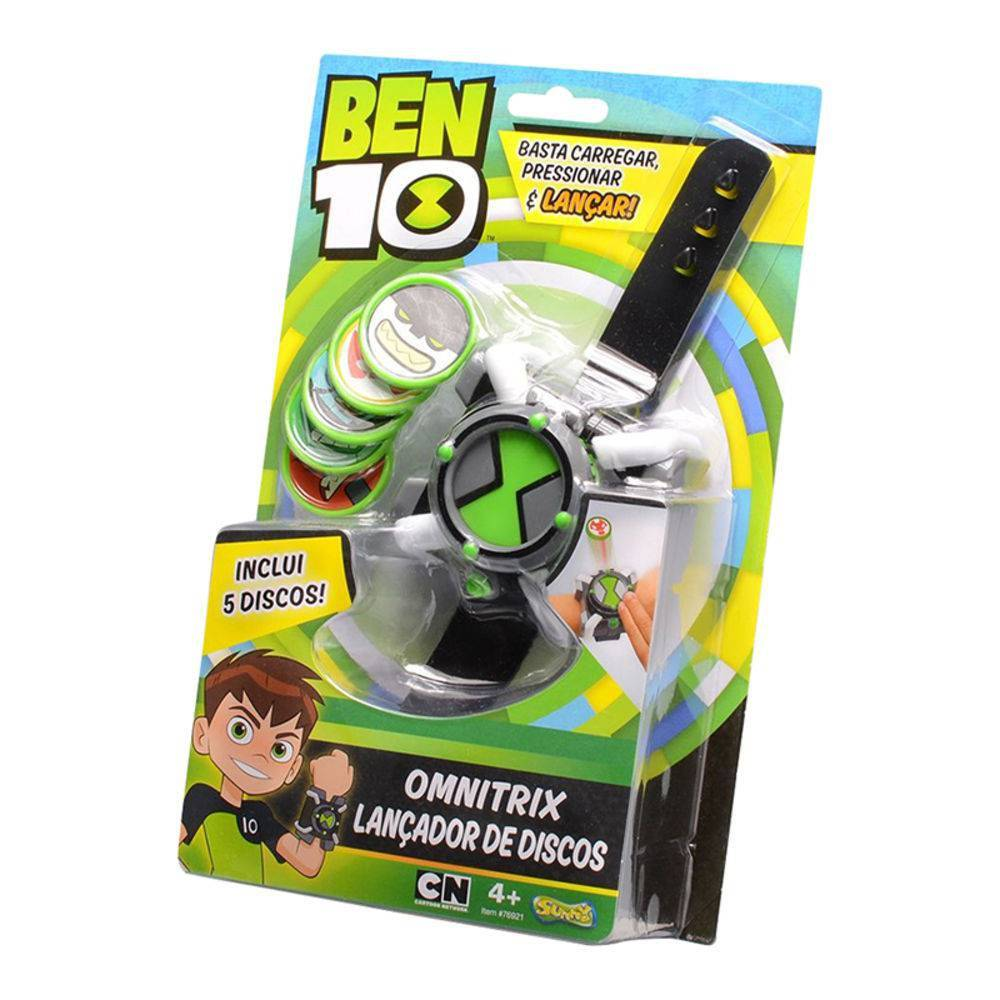BEN10 OMNITRIX LANCADOR SUNNY