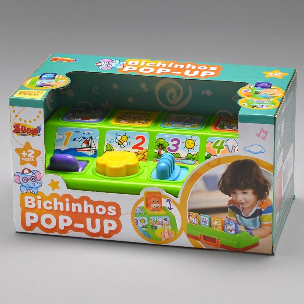 Bichinhos Pop - Up Com Som Zoop Toys