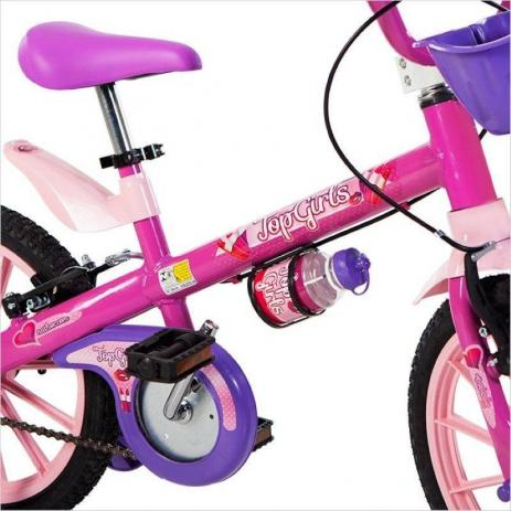 BICICLETA ARO 16 TOP GIRLS 5 NATHOR