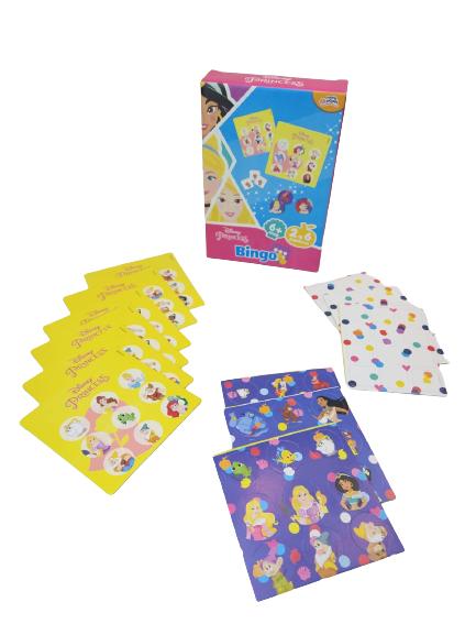 Bingo Princesas Disney De 2 A 6 Jogadores 8011 Toyster