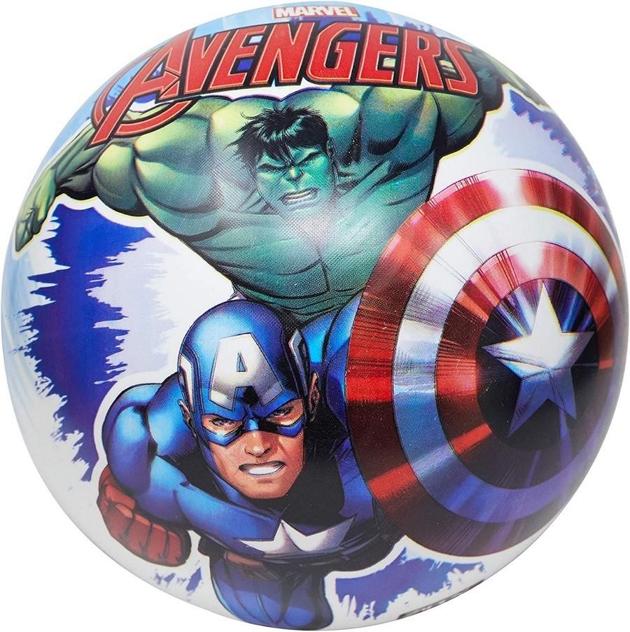 Bola Infantil Inflável Em Vinil Avengers Vingadores Zippy Toys