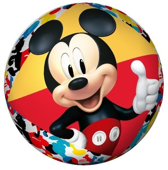 Bola Infantil Inflável Em Vinil Mickey Mouse Zippy Toys
