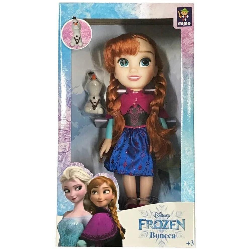 Boneca Anna Passeio com Olaf 6488 Mimo Brinquedos