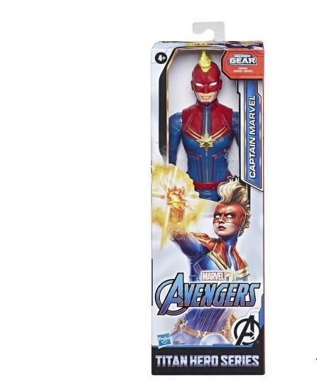 Boneca Articulada Capitã Marvel Avengers Blast Gear Hasbro