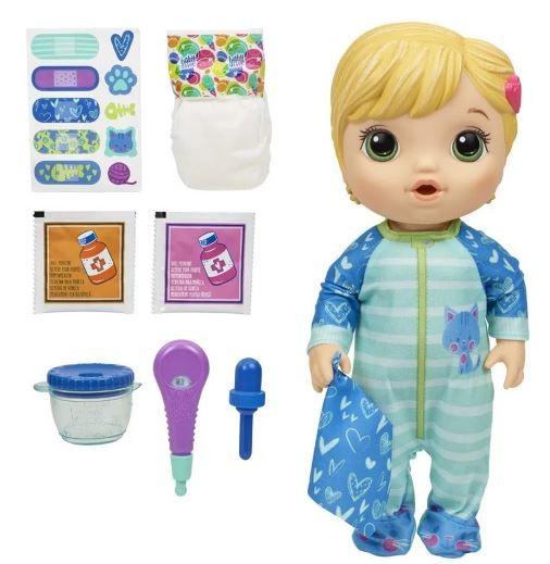 Boneca Baby Alive Aprendendo A Cuidar Loira Hasbro