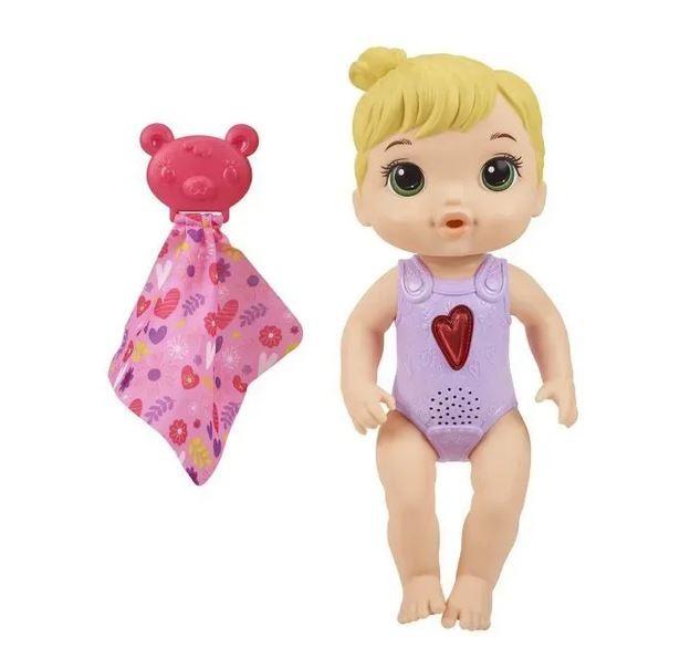 Boneca Baby Alive Coraçãozinho Loira Hasbro