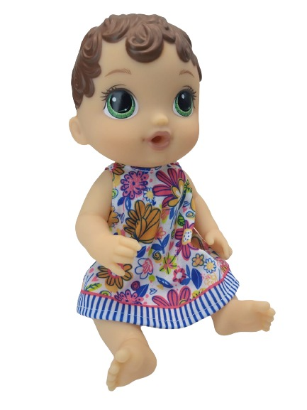 Boneca Baby Alive Hora Do Xixi Morena Hasbro