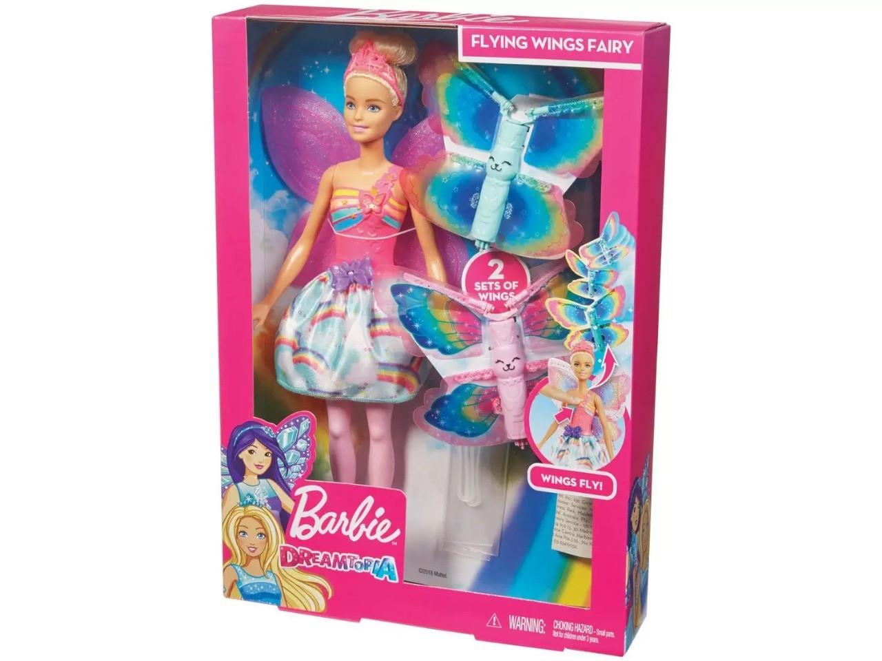 Boneca Barbie Dreamtopia Asas Voadoras Mattel