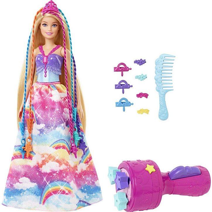 Boneca Barbie Dreamtopia Princesa Com Tranças Mágicas E Acessórios Mattel