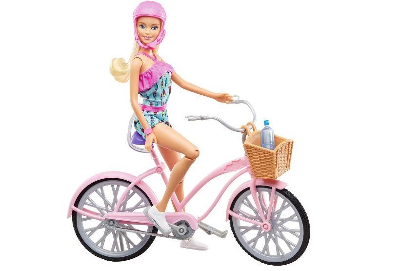 Boneca Barbie Passeio de Bicicleta Mattel