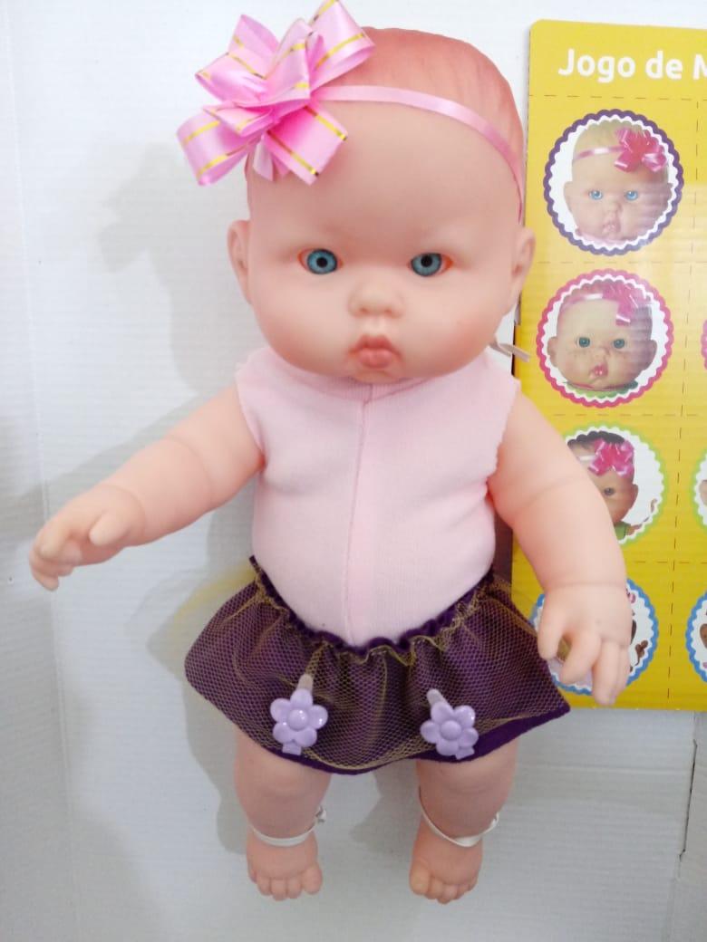 Boneca Bicudinha Ruiva 1032 Zap