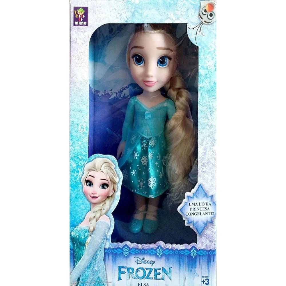 Boneca Clássica Princesa Elsa 6370 Mimo Brinquedos