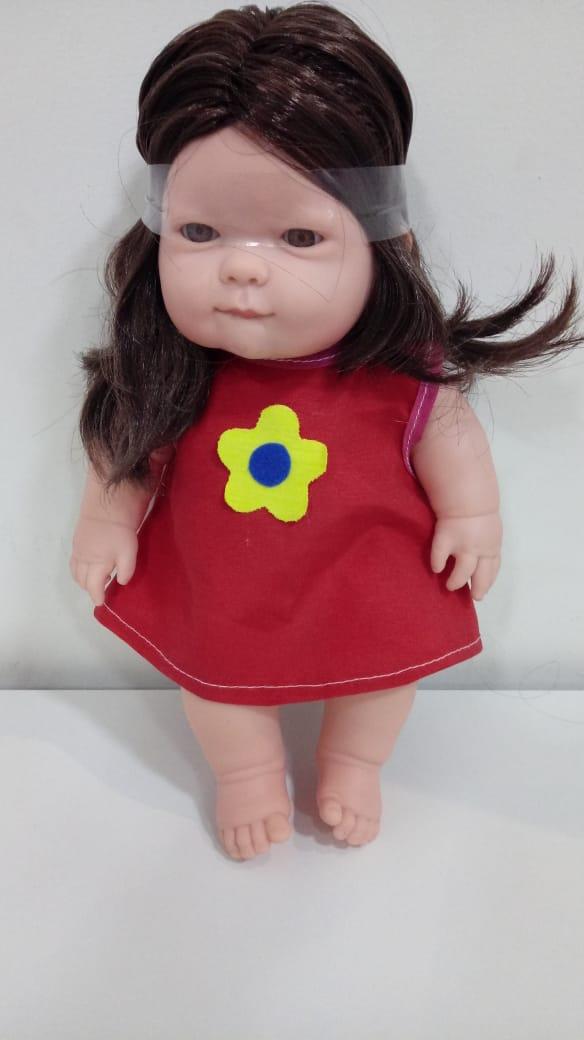 Boneca Fazendinha Étnica-indígena Zap