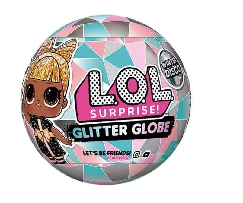 Boneca LOL Surprise Glitter Globe Winter Disco Com 8 Surpresas Candide