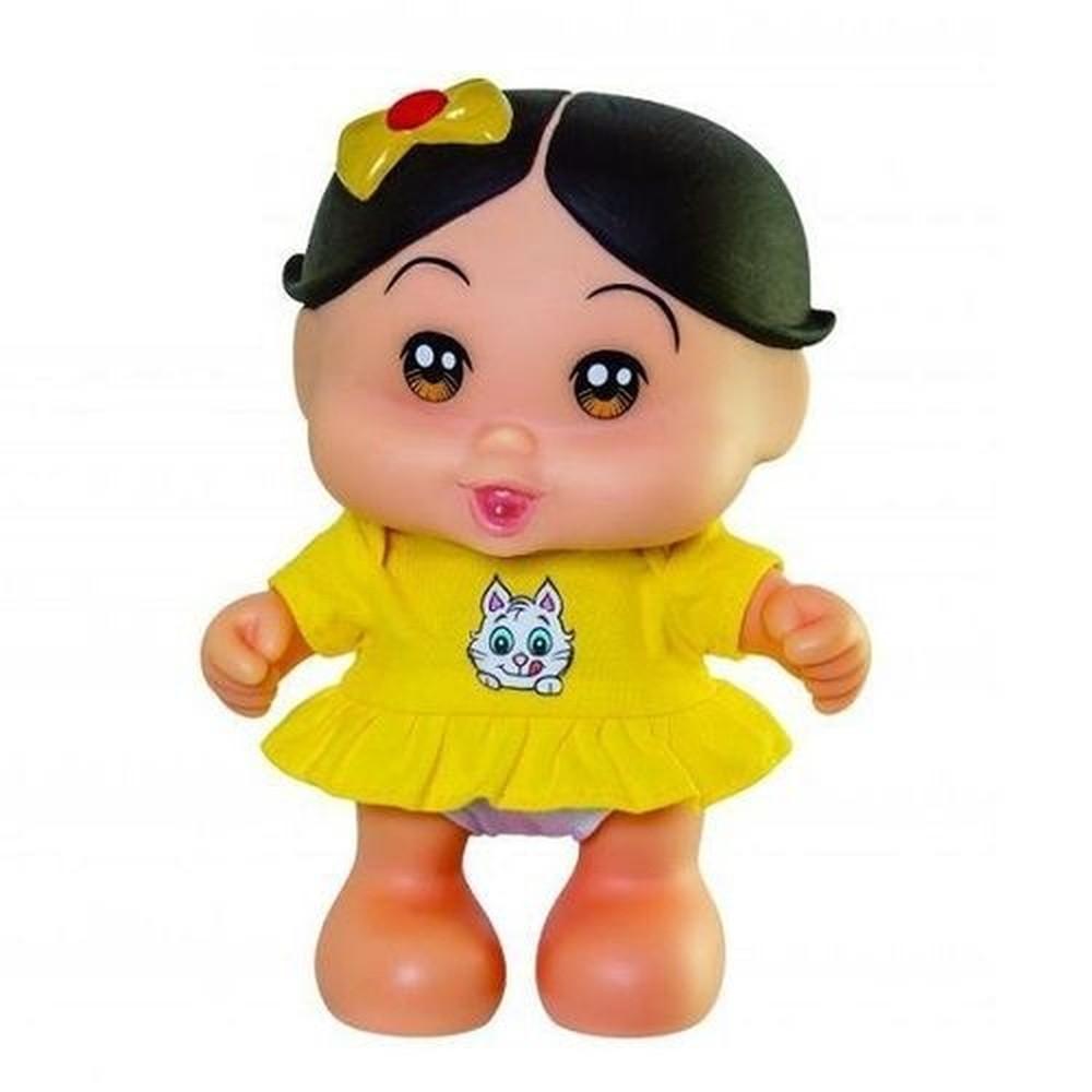 Boneca Magali Baby 23 cm Turma da Mônica 0413 Adijomar