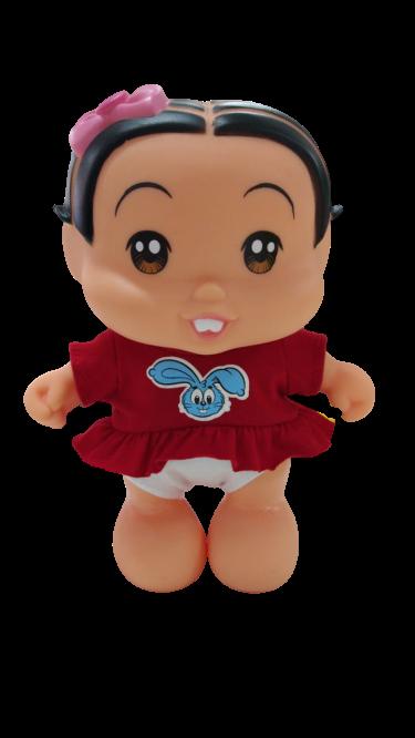 Boneca Mônica Baby 23 cm Turma da Mônica 0412 Adijomar