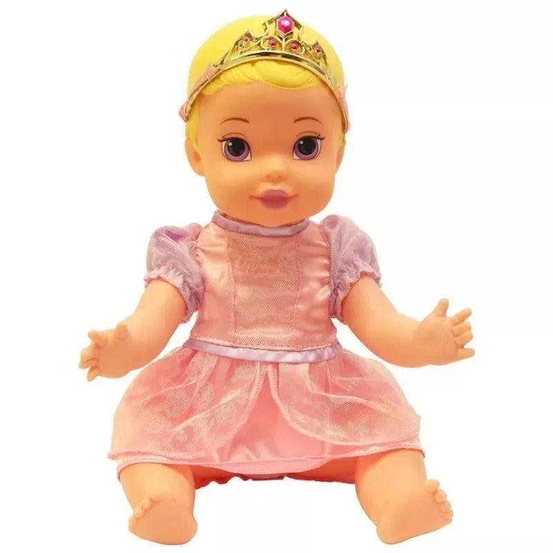 Boneca Princesa Aurora Baby Luxo 6425 Mimo Brinquedos