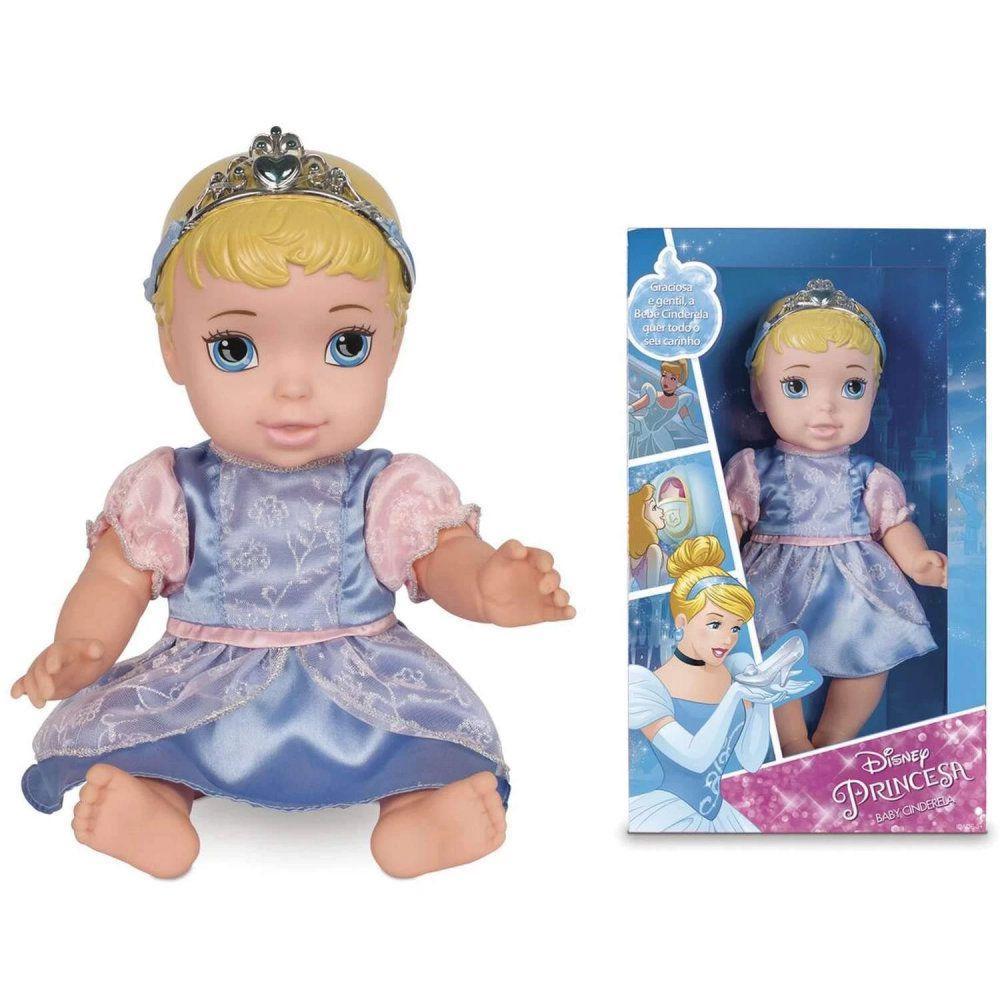 Boneca Princesa Baby Cinderela 6434 Mimo