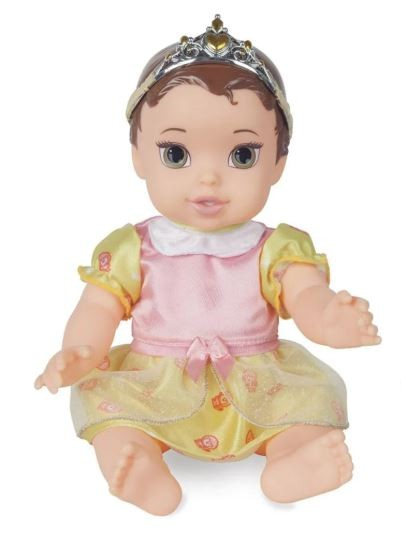 Boneca Princesa Bela Baby  6437 Mimo Brinquedos