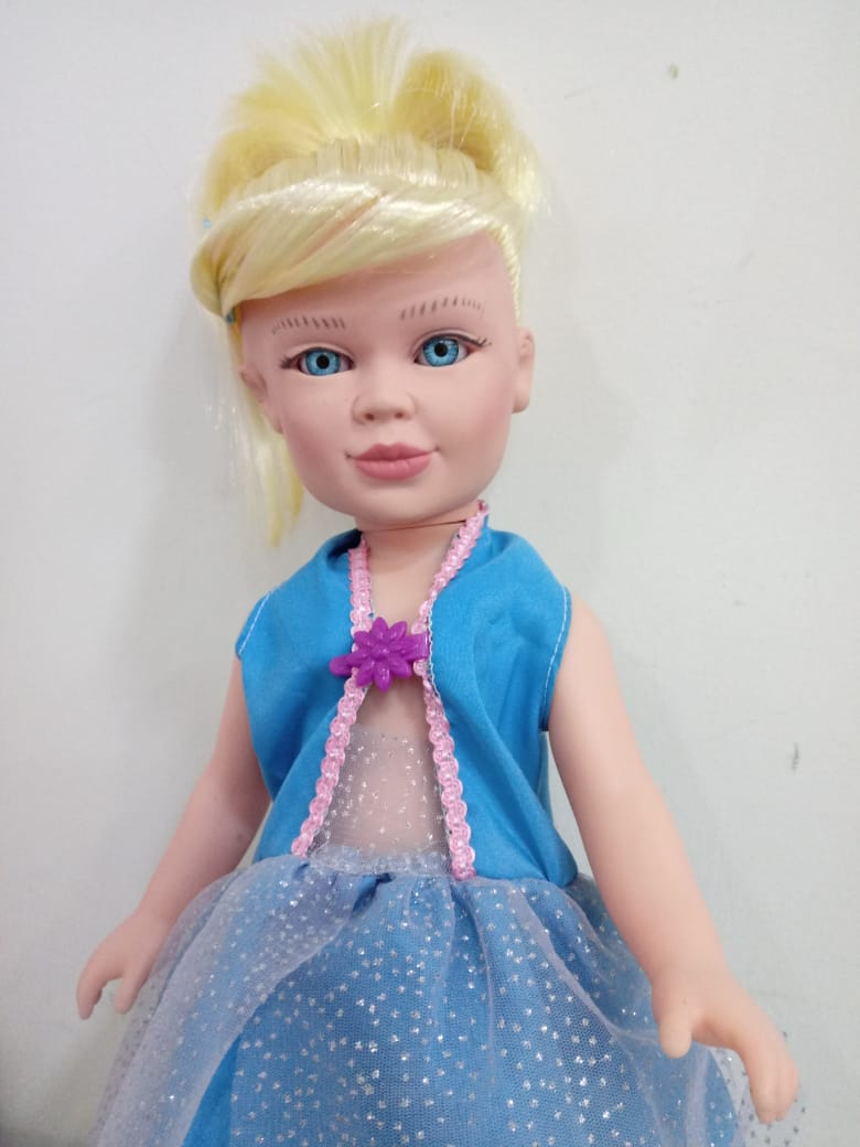Boneca Princesa Cinderela 1018 Zap