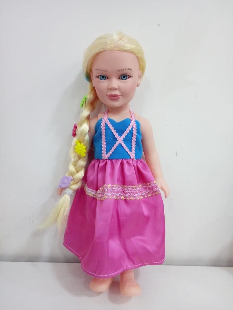 Boneca Princesa Rapunzel 1020 Zap