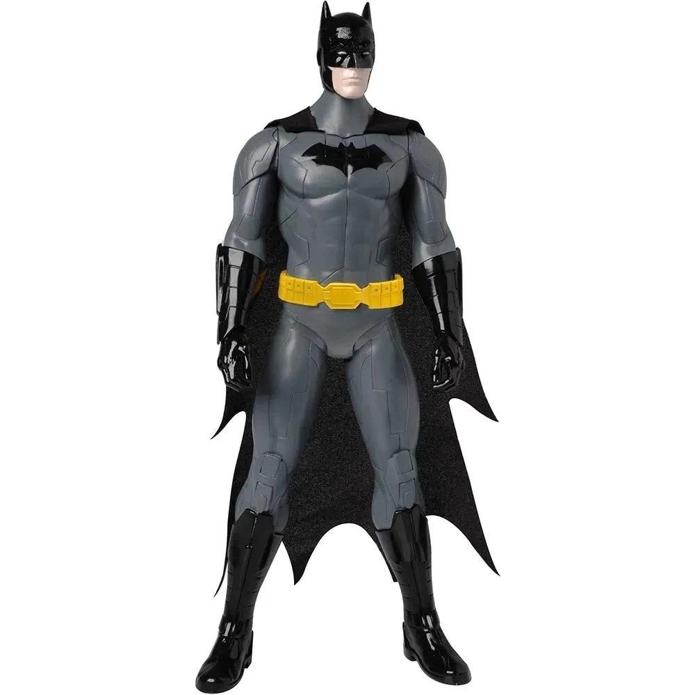 Boneco Articulado Batman 35cm Com Som Liga Da Justiça Candide