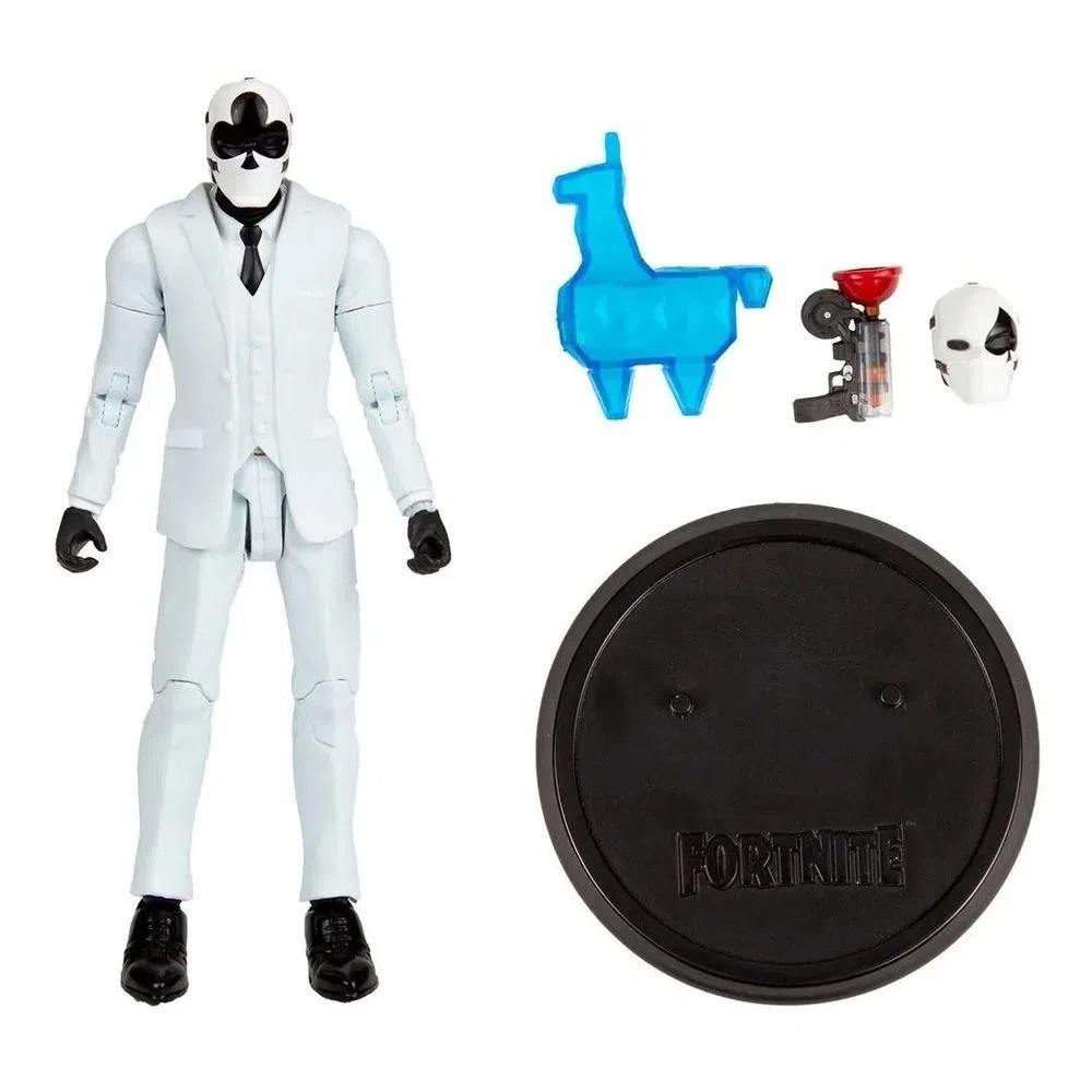 Boneco Articulado Colecionável Fortnite Wild Card Black Suit 17cm Fun