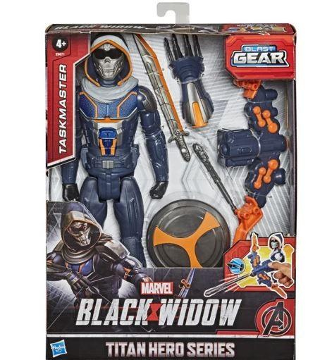 Boneco Articulado Taskmaster Black Widow Marvel Avengers Hasbro