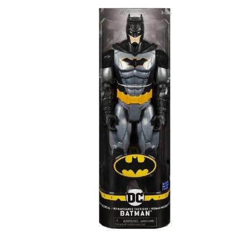 Boneco Batman Renascimento Tático 30cm Articulado DC Comics Spin Master Sunny