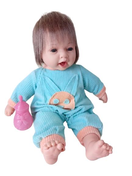 Boneco Menino Bebê Reborn 45 cm Zap