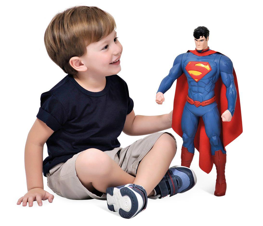 Boneco Superman 43cm Bandeirante