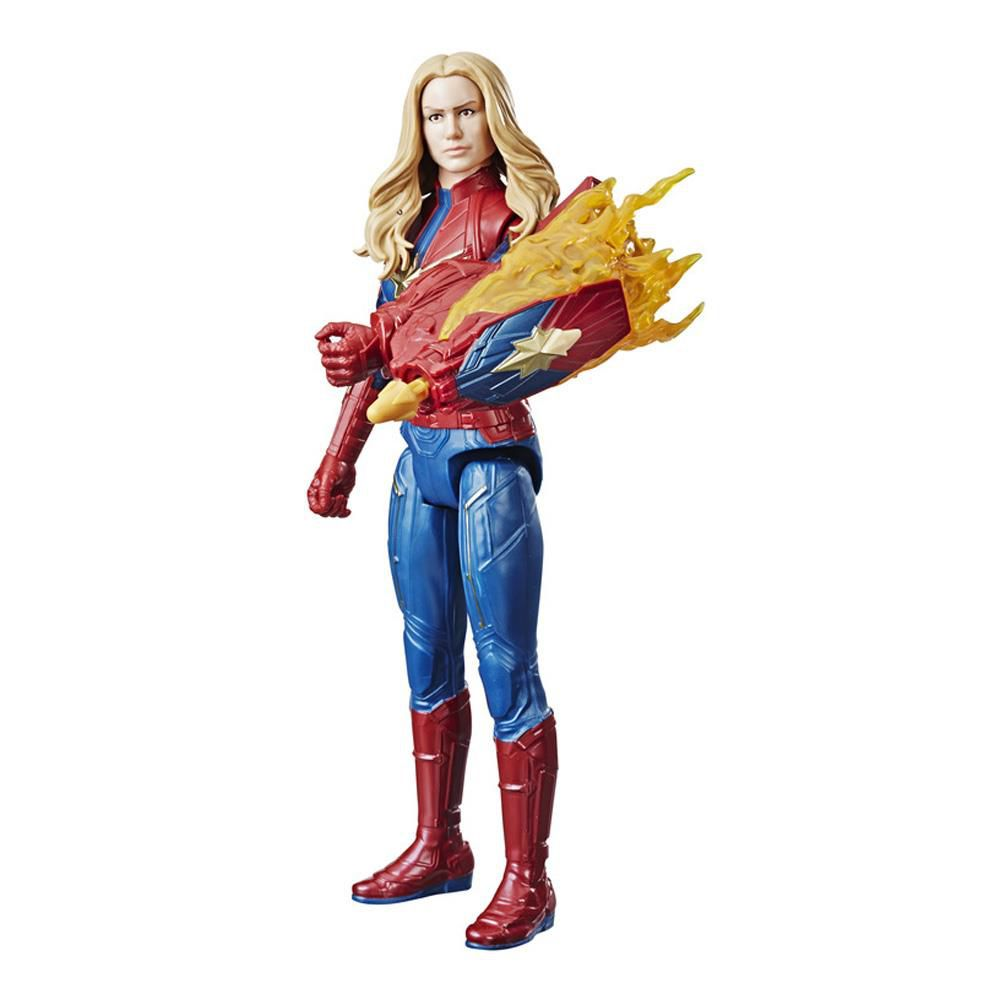 Boneco Titan Capitã Marvel Power Fx E3307 Hasbro