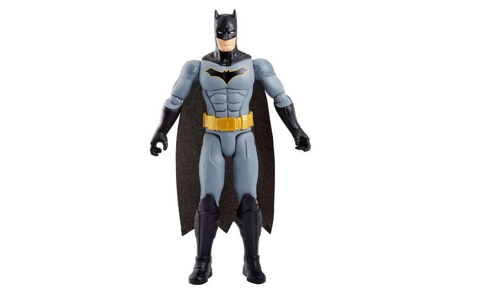 Boneco Totalmente Articulado Batman Dc Comics Mattel FVM70
