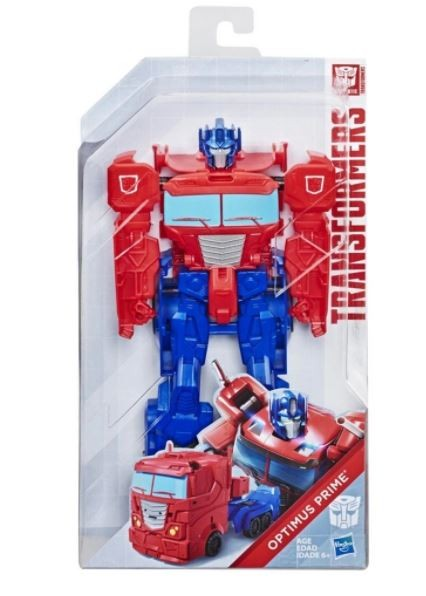 Boneco Transformers Gen Authentic Titan Changer Optimus Prime Hasbro