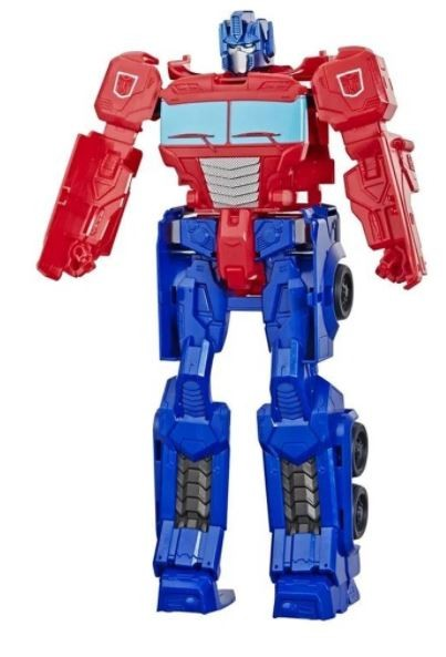 Boneco Transformers Gen Authentic Titan Changer Optimus Prime Hasbro