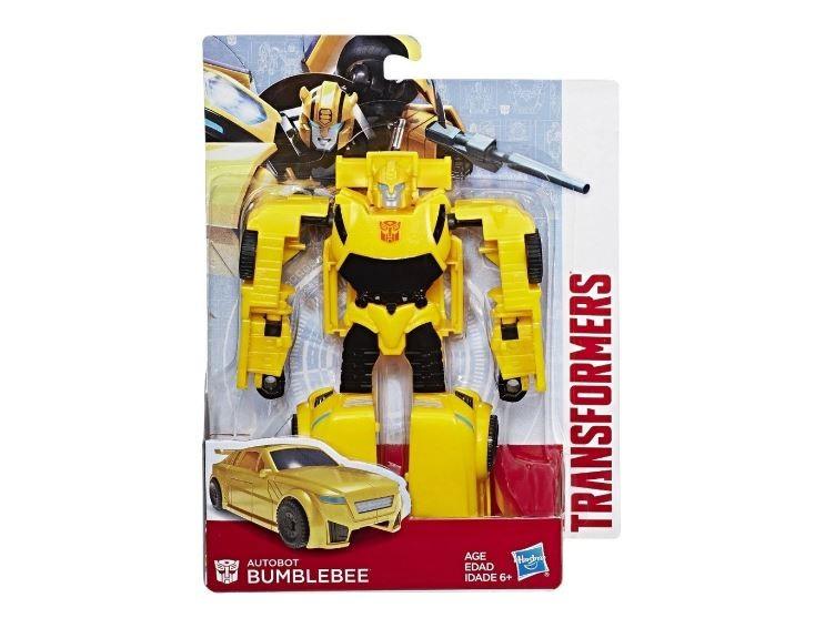 Boneco Transformers Project Storm Bumblebee 3 Passos Hasbro E0618