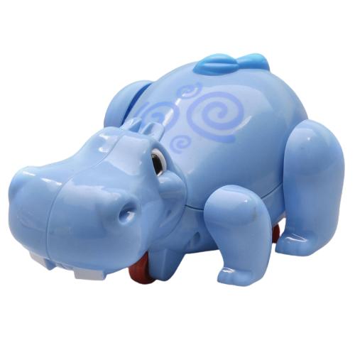 Brinquedo Aquático Hipopótamo Treme Treme Azul Buba