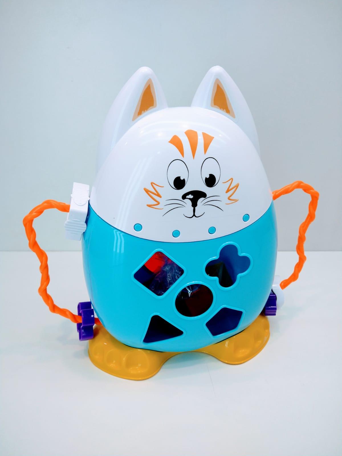 Brinquedo Colorido Com Formas Didáticas Meu Amigo Pet Tateti