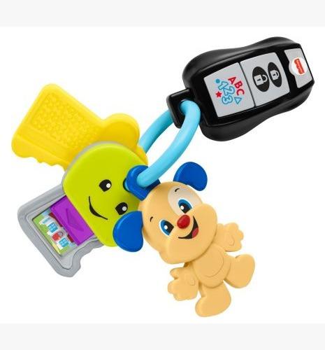 Brinquedo Com Atividades Chaves De Brincar E Levar Com Mordedor , Luz e Sons Fisher-Price