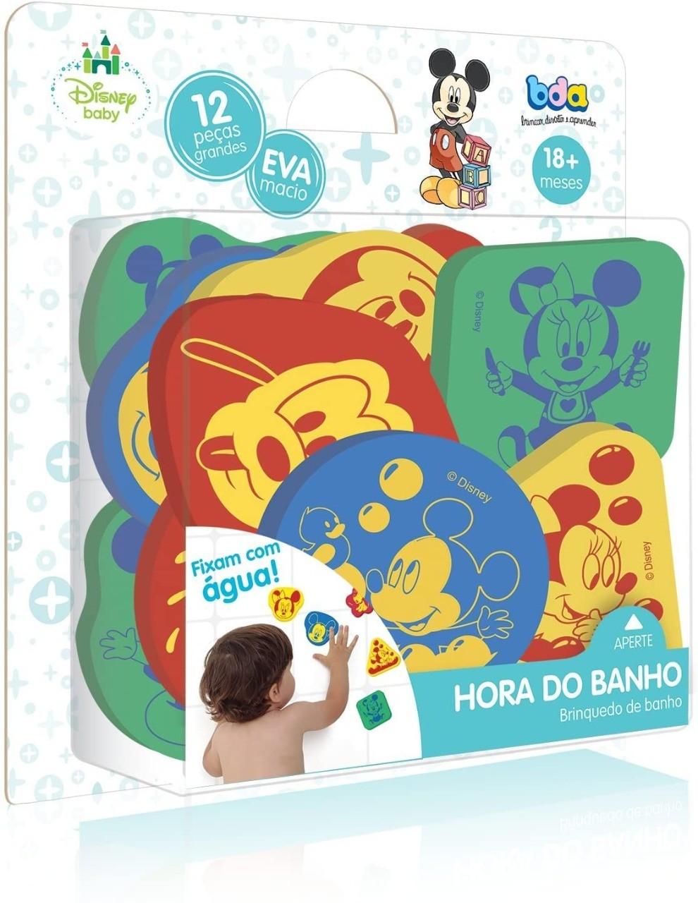 Brinquedo De Banho Em E.V.A Macio Disney Baby Toyster