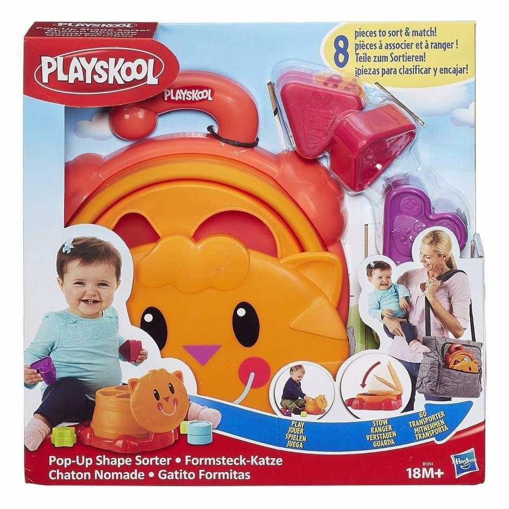 Brinquedo Infantil Playskool Gatinho Com Formas Hasbro