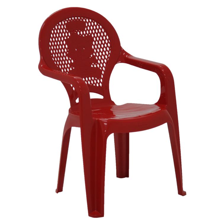 Cadeira Infantil tramontina Catty Estampada Em Polipropileno Vermelho