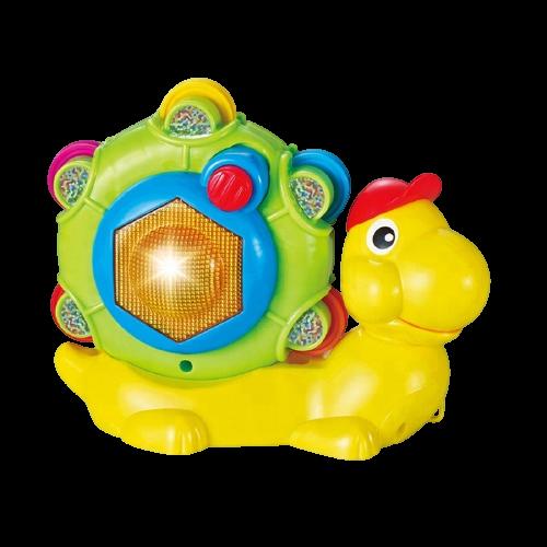 Caracol Pandeiro Musical 3 em 1  Me Toys