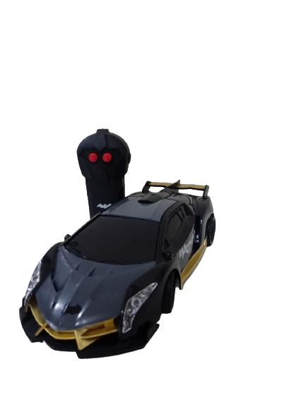 Carrinho De Controle Batman Sombra Negra Rádio Controle 03 Funções
