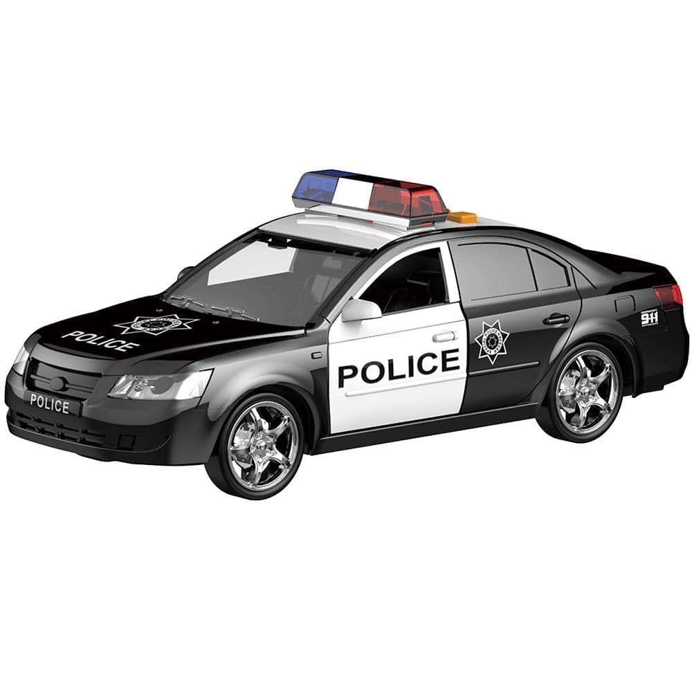 CARRINHO DE POLICIA 1:16 SHINY TOYS