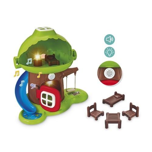 Casinha na Árvore Com Som Little Land 462 Usual Brinquedos