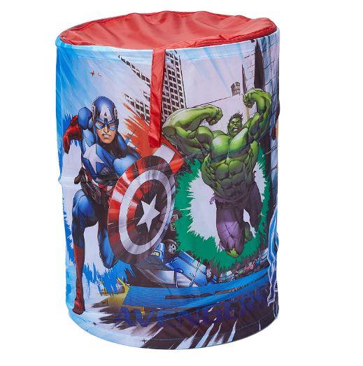Cesto Porta Objetos Portátil Avengers Zippy Toys