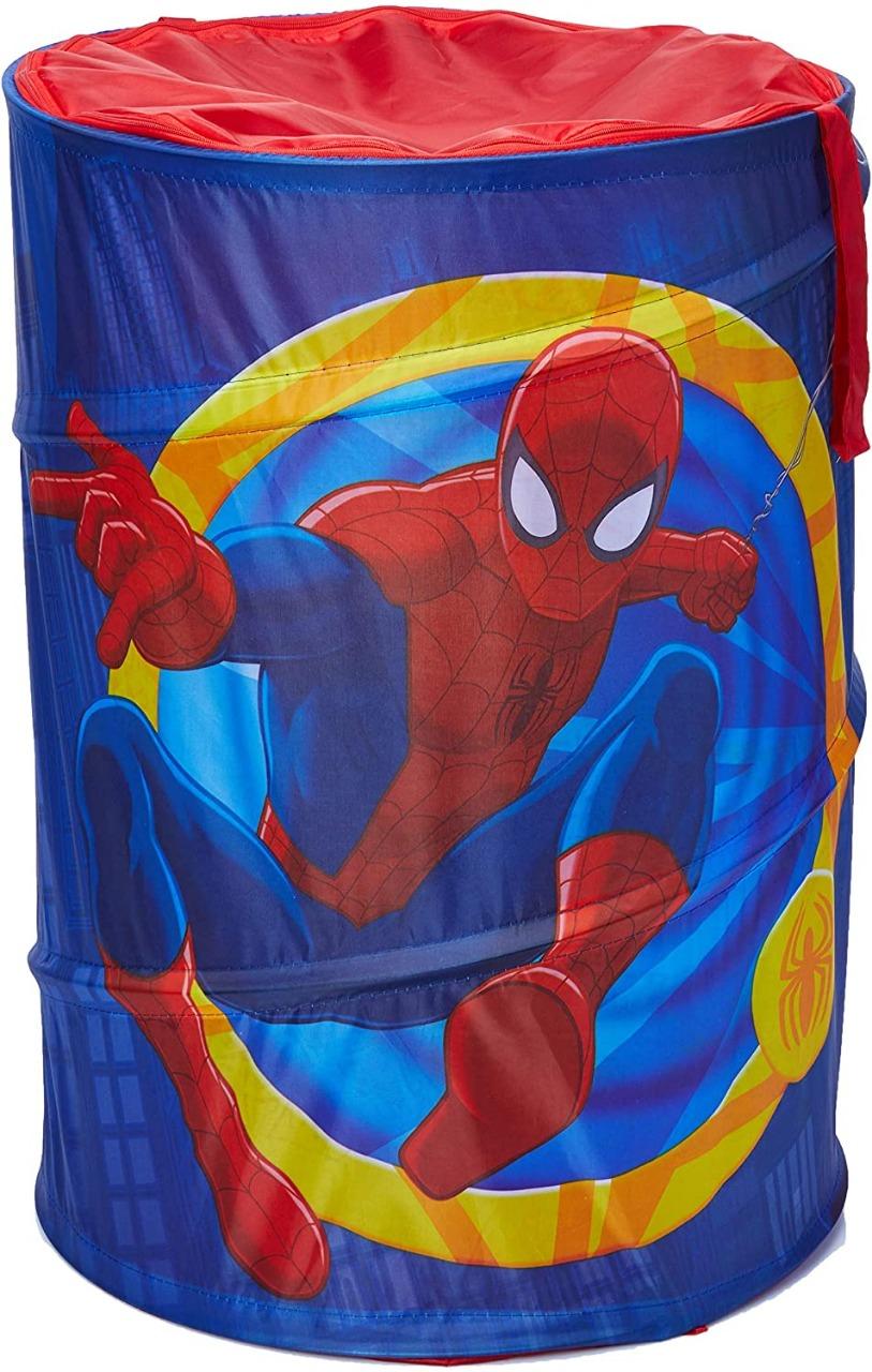 Cesto Porta Objetos Portátil Homem Aranha Marvel Zippy Toys