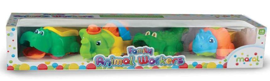 Conjunto Animaizinhos Didáticos Baby Workers Maral