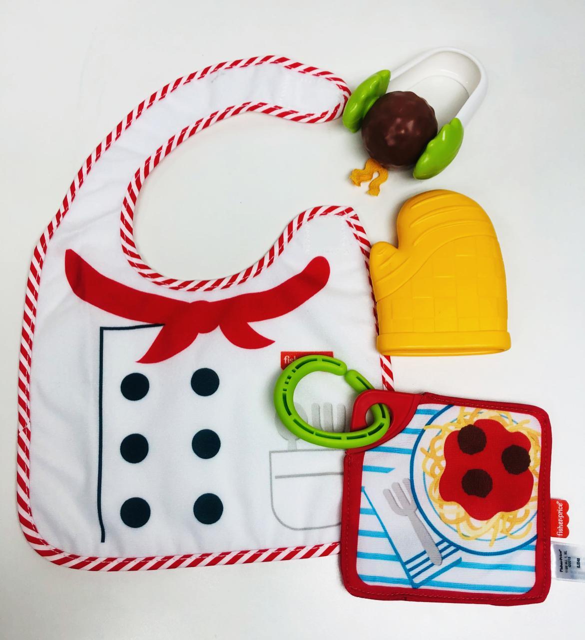 Conjunto de Atividades com Mordedor - Baby Mini Chef - Fisher-Price